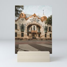 Raichle palace in Subotica, Serbia / Fall / Autumn Mini Art Print