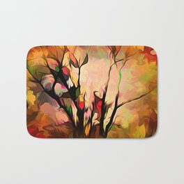 A Tree For All Seasons Bath Mat