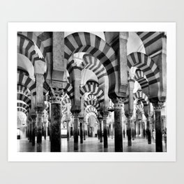 The Great Mosque of Cordoba Art Print