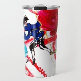Marin Marais ` La grande spectre de la Rose' Travel Mug