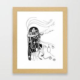 Klimt reloaded Framed Art Print