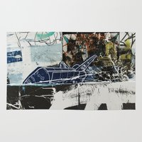 plane Area & Throw Rugs featuring Plane by Atlen