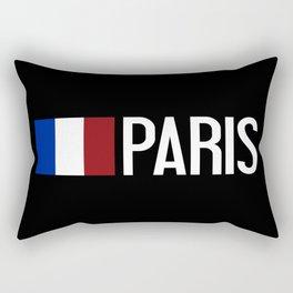 France: French Flag & Paris Rectangular Pillow