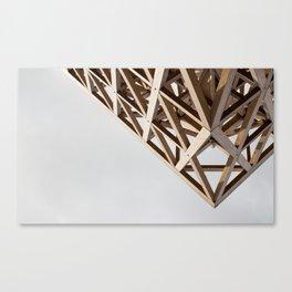 Struktur Holz Canvas Print