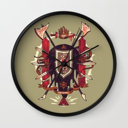 Astral Ancestry Wall Clock