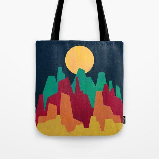 Rocky Landscape Tote Bag