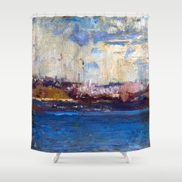 Tom Roberts Harborscape Shower Curtain
