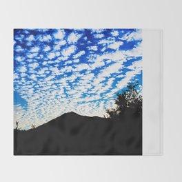 Tam Clouds Throw Blanket