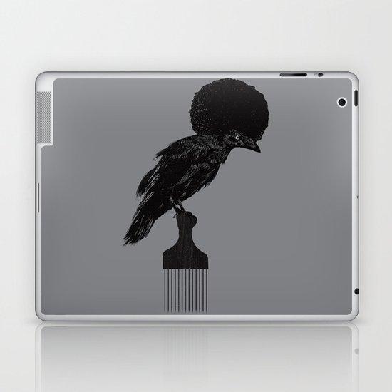 The Black Crow Laptop & iPad Skin