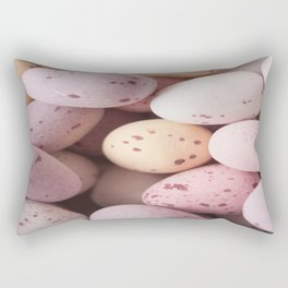 Mini Easter Eggs Delight  Rectangular Pillow