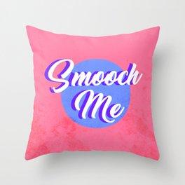 Smooch Me Throw Pillow