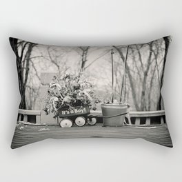 Evanescent Beginnings  Rectangular Pillow
