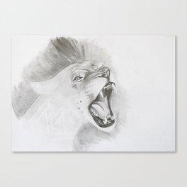 Roar of a Lion Canvas Print