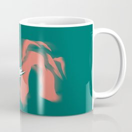 Moped Girl Coffee Mug