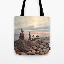 Rock Totems Tote Bag