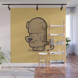 The Little Stubborn Dog Wall Mural