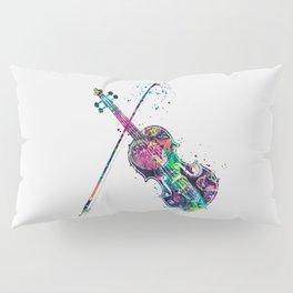 Violin Pillow Sham