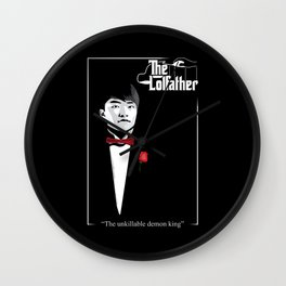 The LoL father Wall Clock