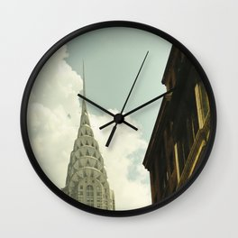 The city of the fighting styles Wall Clock