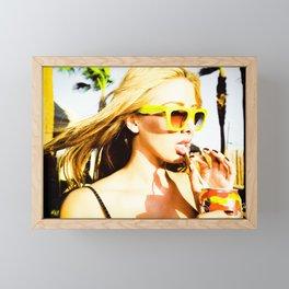 5395 Sarah in the California Desert Framed Mini Art Print
