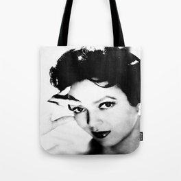 dorothy dandridge black & white photo Tote Bag