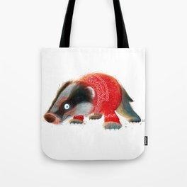 Cosy Badger Tote Bag
