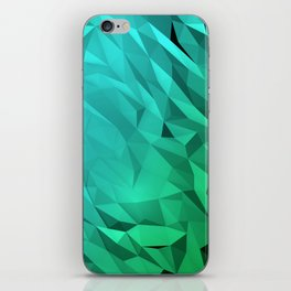 I Love Low Poly 3 iPhone Skin