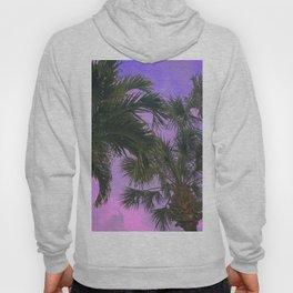Purple Sky Palms Hoody