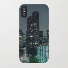 Downtown Boston Slim Case iPhone X