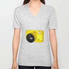 Fisheye Camera Unisex V-Neck