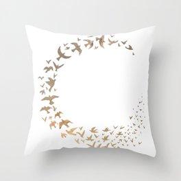 Starbirds Throw Pillow