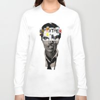 godfather Long Sleeve T-shirts featuring Godfather Mix 1 white by Marko Köppe