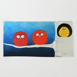 I want to take you home. Beach Towel