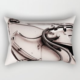 Dig Doug Industry Machine Abstract Rectangular Pillow