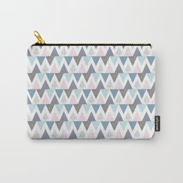 Tri Colour Two Carry-All Pouch