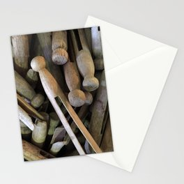 When Pins Were for Laundry, Not Images Stationery Cards