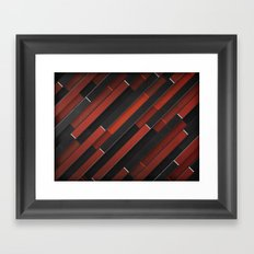 Maniac Pattern Framed Art Print