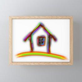 Home Sweet Home Framed Mini Art Print