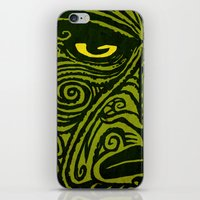 maori iPhone & iPod Skins featuring Maori style 01 by Alexis Bacci Leveille