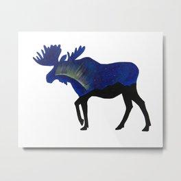 Moose 1 Metal Print