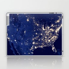 City Lights of the United States Laptop & iPad Skin