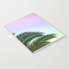 Palm Leaves  - Tropical Sky - Chilling Time Notebook