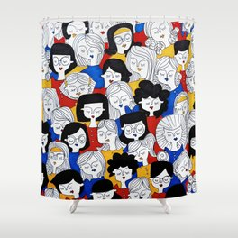 Fashion pattern Shower Curtain