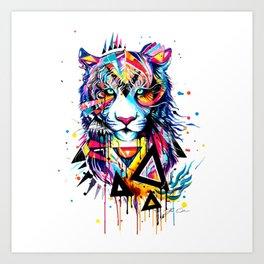LION--ART Art Print