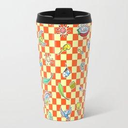 Budgie parrot pattern Travel Mug