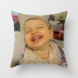 Happy Kid Throw Pillow