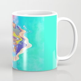 Psychedelic Clouds Coffee Mug
