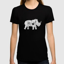 I Love Rhinos Distressed Just Chubby Unicorns T-shirt