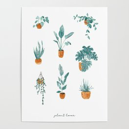 Plant lover Poster