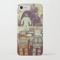 robots iPhone & iPod Cases featuring Robots by GF Fine Art Photography
